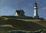 Light House Hill By Edward Hopper
