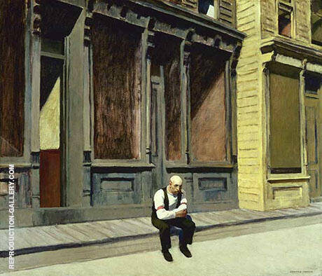 Sunday 1926 By Edward Hopper