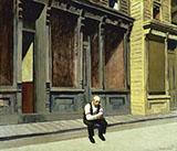 Sunday 1926 By Edward Hopper