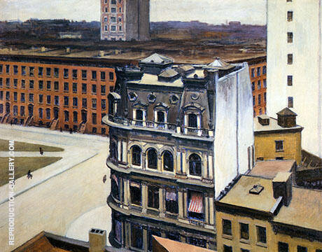 The City 1927 By Edward Hopper - Oil Paintings & Art Reproductions - Reproduction Gallery
