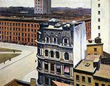 The City 1927 By Edward Hopper