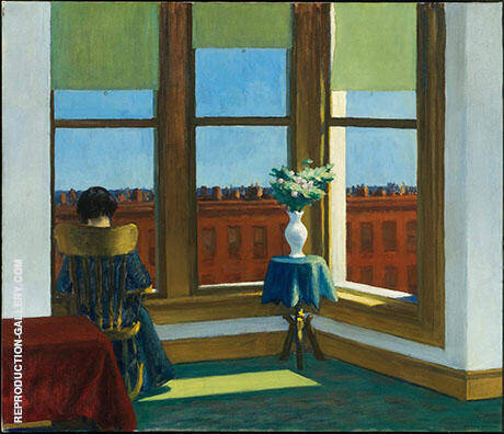 Room in Brooklyn 1932 By Edward Hopper