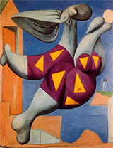 Bather with Beach Ball 1932 By Pablo Picasso
