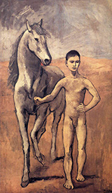 Boy Leading a Horse 1906 By Pablo Picasso