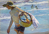 Fisherman in Valencia 1904 By Joaquin Sorolla