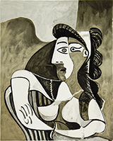 Femme Acoudee au Fauteuil By Pablo Picasso