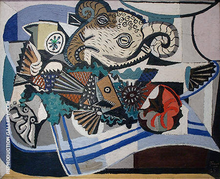 The Rams Head 1925 By Pablo Picasso - Oil Paintings & Art Reproductions - Reproduction Gallery