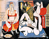 Women of Algiers I 1955 By Pablo Picasso