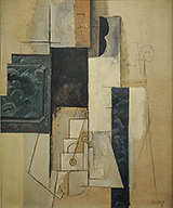 Woman with a Guitar 1913 By Pablo Picasso