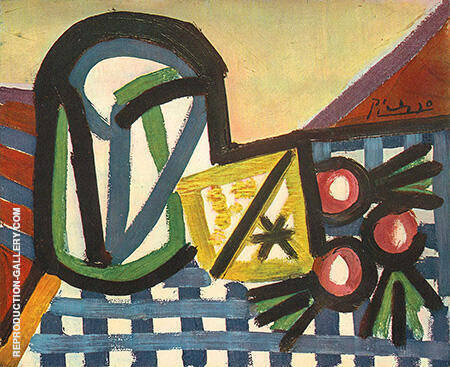 Glass and Fruit 1944 By Pablo Picasso - Oil Paintings & Art Reproductions - Reproduction Gallery