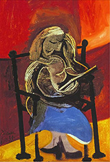 Woman Reading 1939 By Pablo Picasso