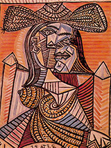 Seated Woman 1938 By Pablo Picasso