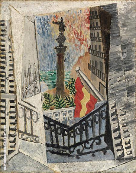 Paseo Colon y Hotel Ranzini By Pablo Picasso