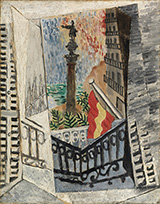 View of The Monument to Columbus 1917 By Pablo Picasso