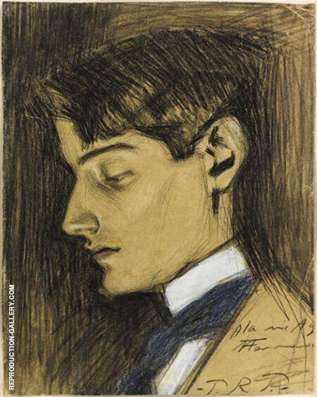 Angel Fernandez Del Soto 1903 By Pablo Picasso - Oil Paintings & Art Reproductions - Reproduction Gallery