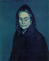 La Celestine Carlotta Valdivia 1903 By Pablo Picasso