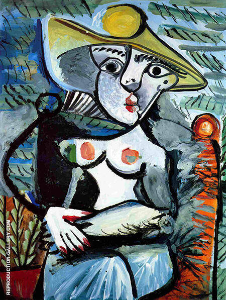 Portrait of Suzanne Bloch Opera Singer 1904 By Pablo Picasso