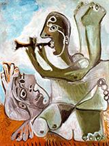 Laubade 1967 By Pablo Picasso