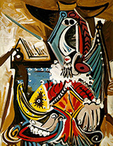 The Man with the Golden Helmet 1969 By Pablo Picasso
