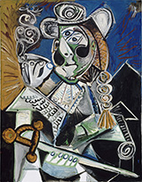 Cavalier with Pipe The Matador 1970 By Pablo Picasso