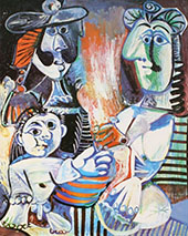 The Family 1970 By Pablo Picasso