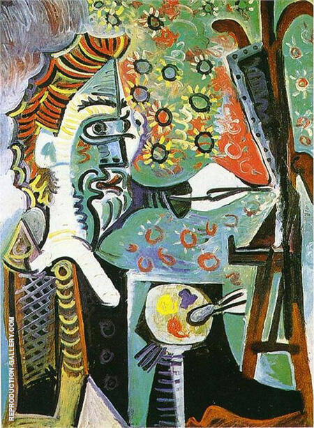 The Artist 1963 By Pablo Picasso