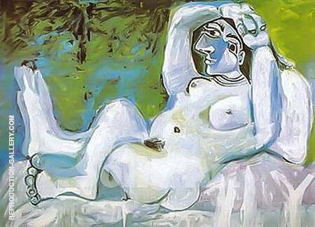 Large Nude 1964 By Pablo Picasso - Oil Paintings & Art Reproductions - Reproduction Gallery