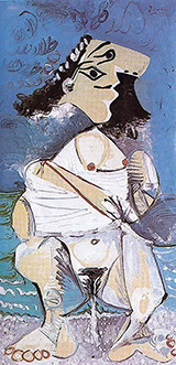 Woman Pissing 1965 By Pablo Picasso