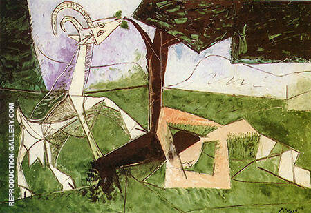 Spring 1956 By Pablo Picasso - Oil Paintings & Art Reproductions - Reproduction Gallery
