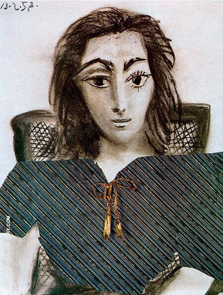 Portrait of Jacqueline 1957 By Pablo Picasso