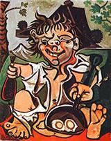 El Bobo 1959 By Pablo Picasso