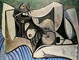 Reclining Nude 1960 By Pablo Picasso
