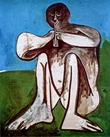 Flute Player 1962 By Pablo Picasso