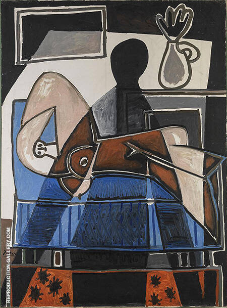 The Shadow on the Woman 1953 By Pablo Picasso - Oil Paintings & Art Reproductions - Reproduction Gallery