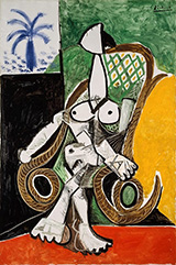 Nude in a Rocking Chair 1956 By Pablo Picasso