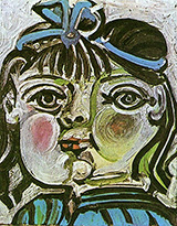 Paloma 1951 By Pablo Picasso