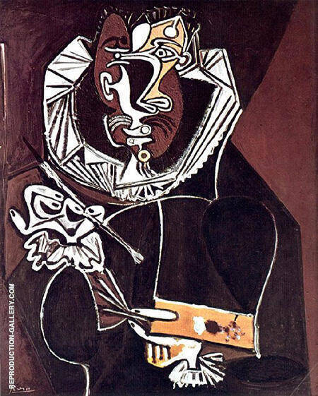 Portrait of a Painter 1950 By Pablo Picasso - Oil Paintings & Art Reproductions - Reproduction Gallery