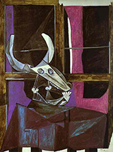 Still Life with Steers Skull 1942 By Pablo Picasso