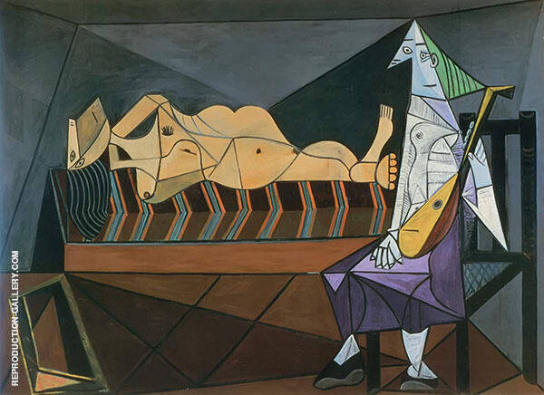 L'Aubade 1942 By Pablo Picasso
