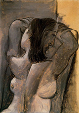 Female Nude 1941 By Pablo Picasso