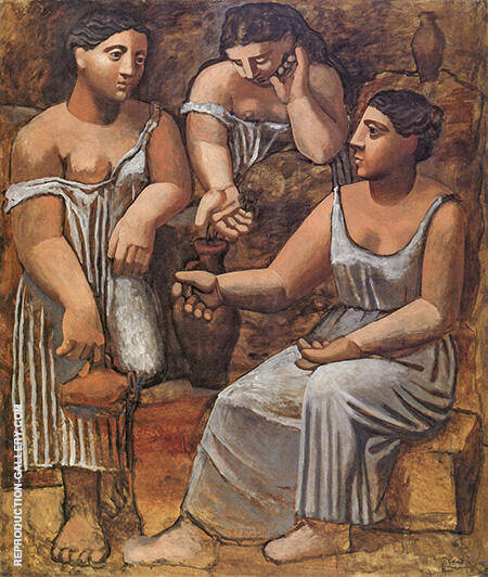 Reproduction of Three Women at the Spring 1921 by Pablo Picasso | Oil Painting Replica On CanvasReproduction Gallery