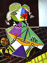 Maya with a Boat 1938 By Pablo Picasso