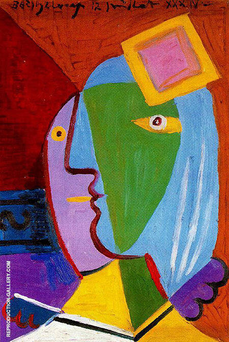 Woman with Cap 1934 By Pablo Picasso