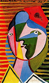 Woman Facing to the Right 1934 By Pablo Picasso