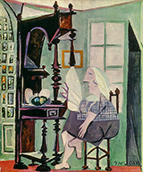 Woman at the Sideboard 1936 By Pablo Picasso
