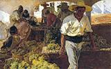 Preparing Raisins 1900 By Joaquin Sorolla