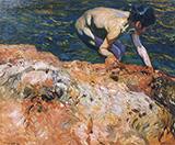 Looking For Shellfish 1905 By Joaquin Sorolla