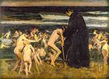 Sad Inheritance 1899 By Joaquin Sorolla
