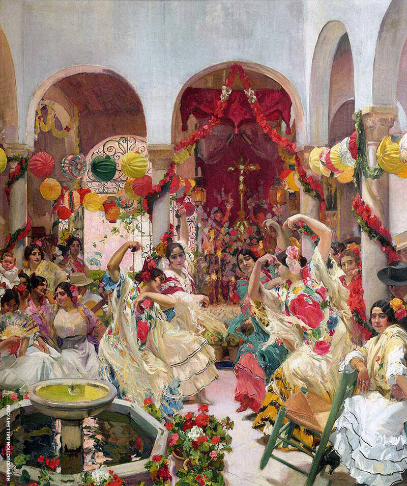Seville the Dance By Joaquin Sorolla