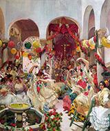 Seville the Dance By Joaquin Sorolla